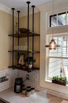 Tempest Suspended Kitchen Shelf
