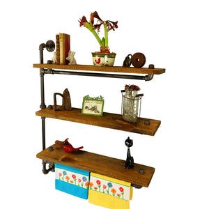 Everett Farmhouse Bath Shelving