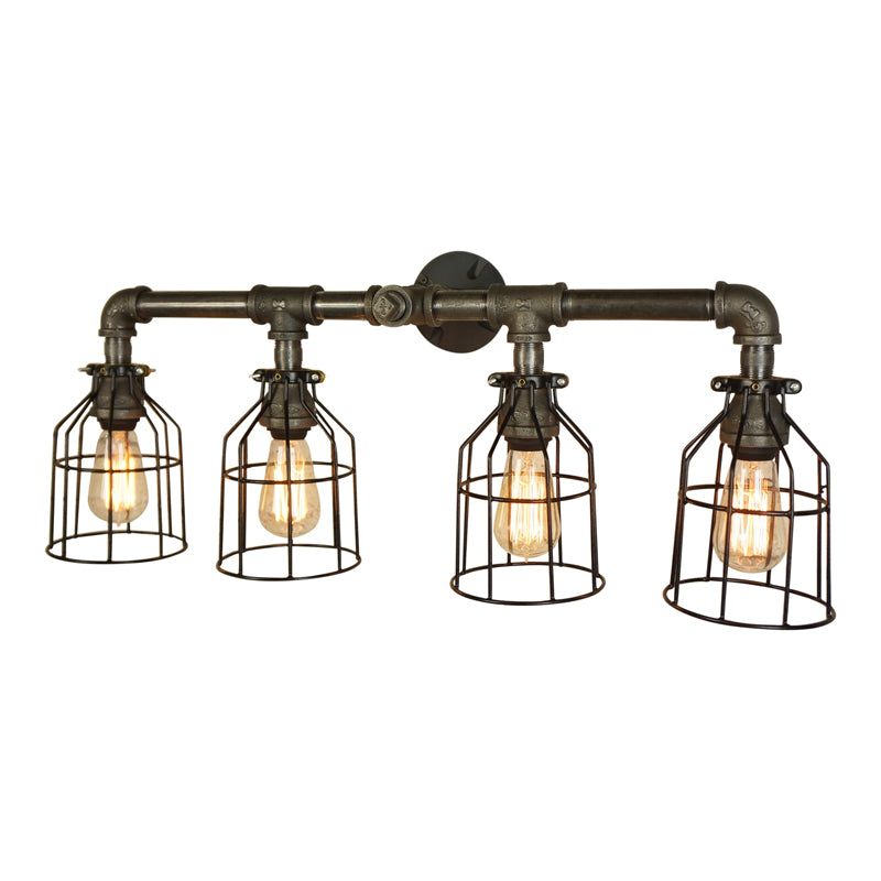Industrial Vanity 4-Light