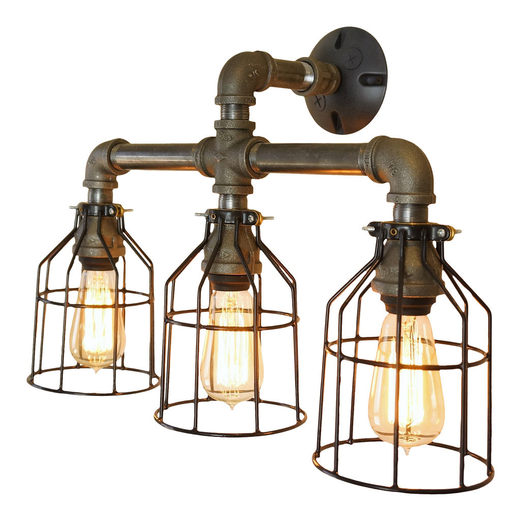 Farmhouse 3-Bulb Vanity Light