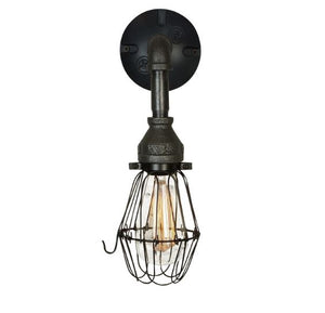 Edison Style Iron Wall Sconce