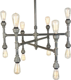 Thomas 12-Light Chandelier, 32""