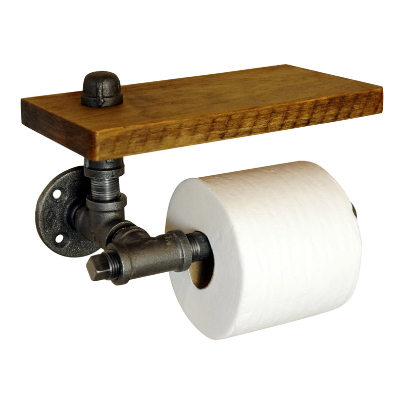 Dakotah Wall Mounted TP Holder With Shelf