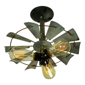 Rustic Country Decorative Fan Light