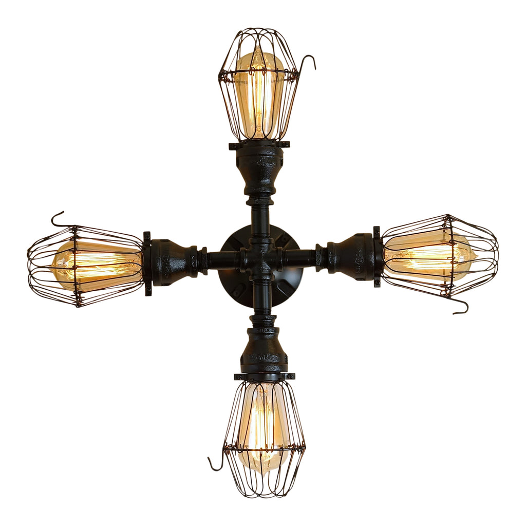 Ascott 4-Bulb Ceiling Light