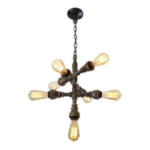 Steampunk 7-Light Chandelier