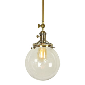 "Beachcrest 1-Light Single 8"" Globe Pendant"