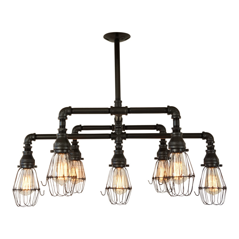 Hampton Seven Light Chandelier