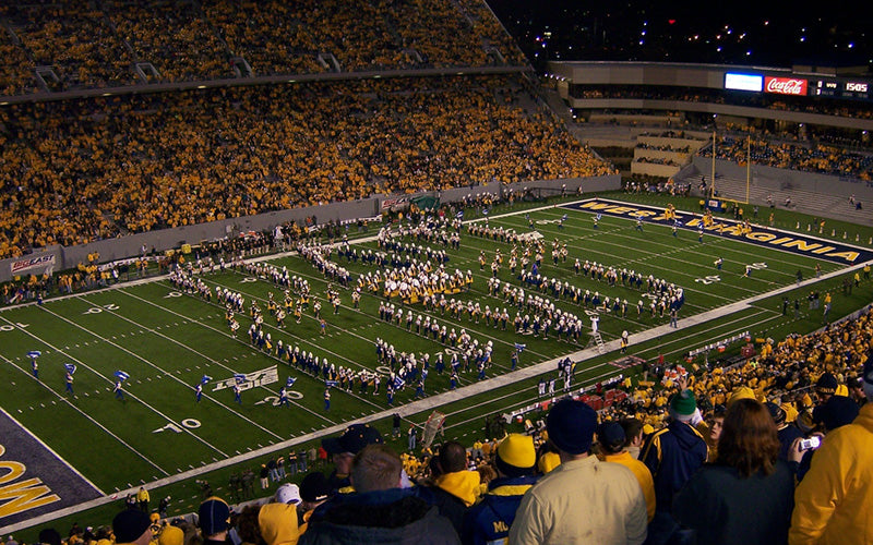 Mountaineer Field at Milan Puskar Stadium