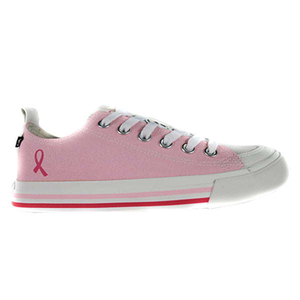 Breast Cancer Low Top (Unisex)