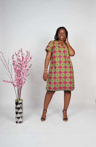 Shift African Dress