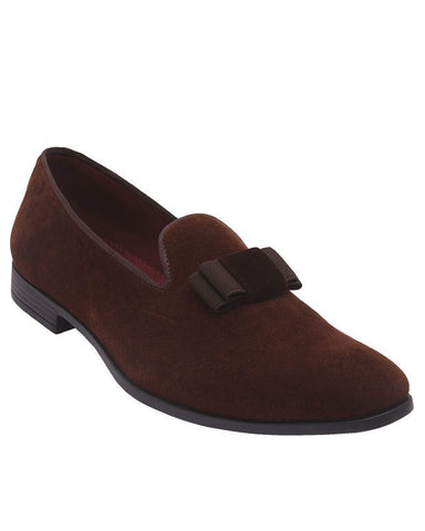 Hem & Omakie Brown Bow Churchill Shoes
