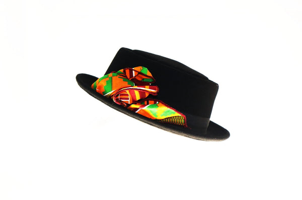 Smart Low brim Wool Felt African Fedora