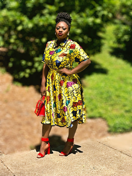 Asantewa Njano African Dress