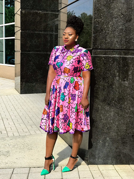 Funmilayo African Dress - Bomvana