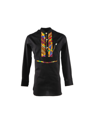 Men's African Shirt -Kente Edition