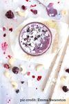 Beauty Boosting Blackberry Cheesecake Smoothie