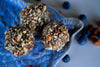 Hazelnut & Blueberry Chocolate Dipped Bliss Balls