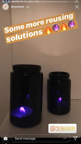 Sweet ambient candle holders