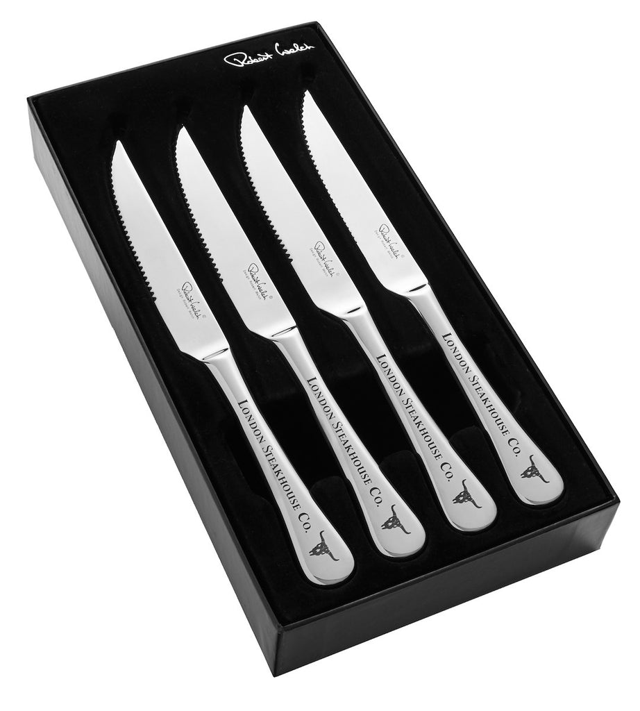 Set of 4 Robert Welch Steak Knives