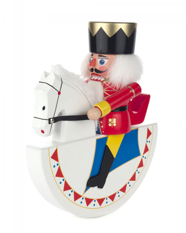 Nutcracker King on Rocking Horse