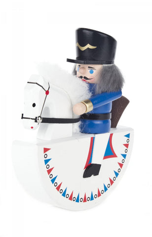 Nutcracker Rocking Horse Blue