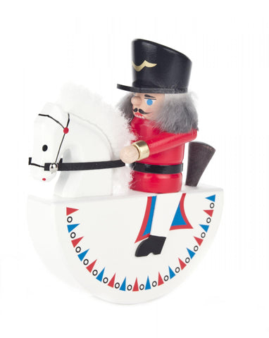 Nutcracker Rocking Horse Red