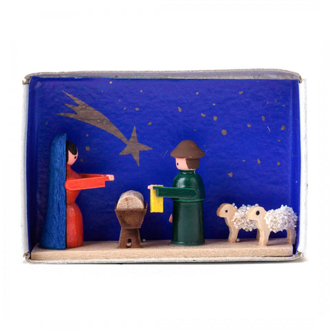 028/007 - Nativity Scene Matchbox