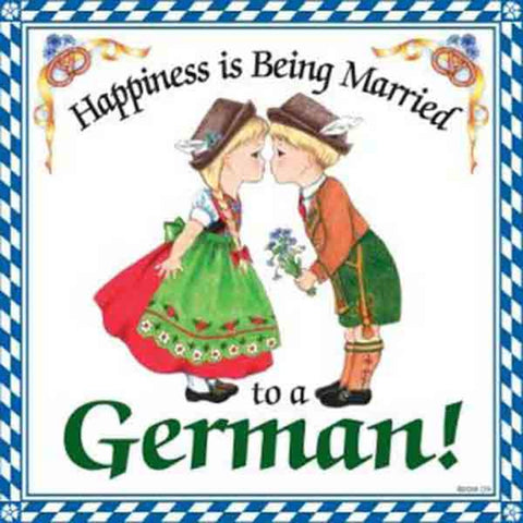 German Happiness Trivet
