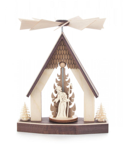 Pyramid Mini with Nativity