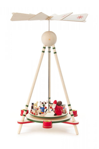 Pyramid With Santa and Toys