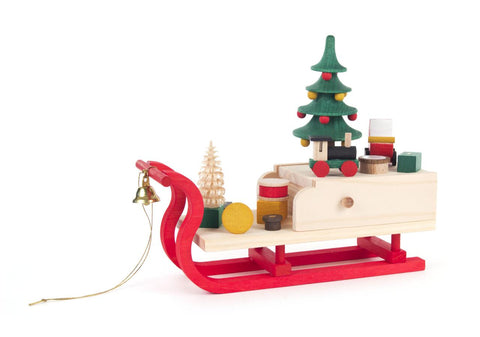 Music Box Santa's Sleigh