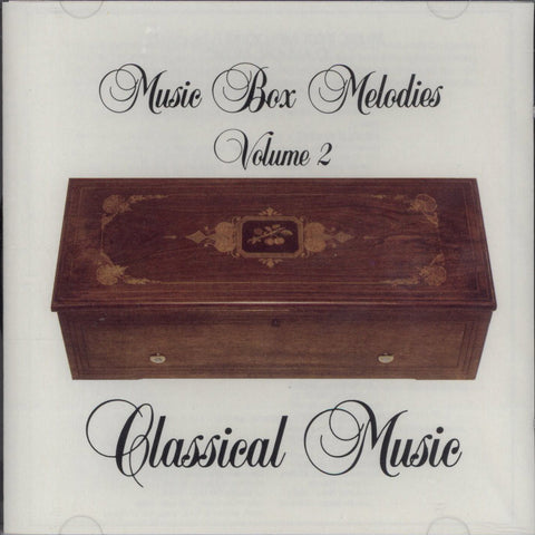 Music Box Melodies CD Volume 2