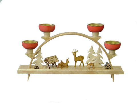 Reindeer Candle Arch