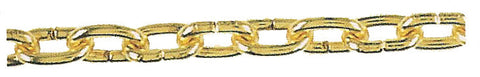 #72 Solid Brass Chain and Hook