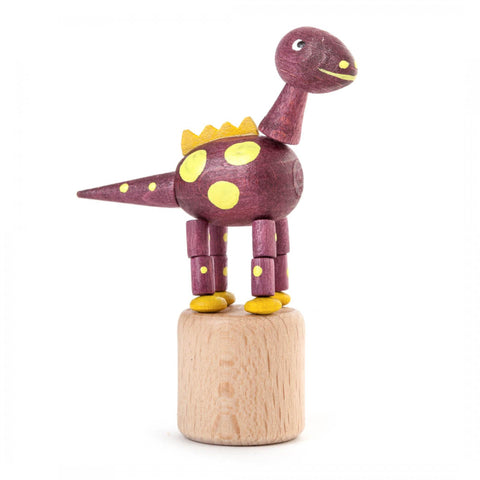 105/024/3 - Wobbly Animal - Dinosaur (Purple)