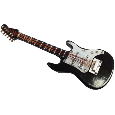 Black Electric Guitar Magnet