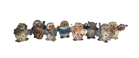 Owl Figurines - Assorted