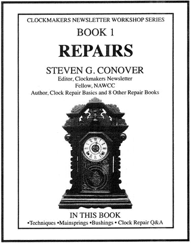 Conniver Book 1 Clock Repair Primer