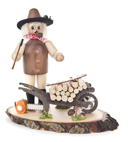 146/1625 - Smoker - Lumberman with Cart