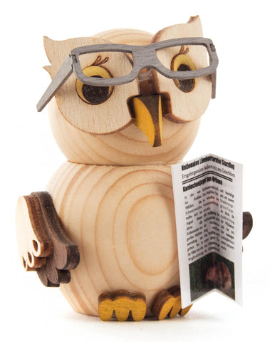Mini Owl with Glasses