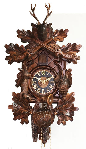 1 Day Dead Animal Hunter Cuckoo Clock