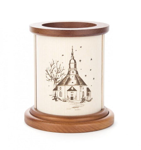 Tealight Holder - Seiffen Church