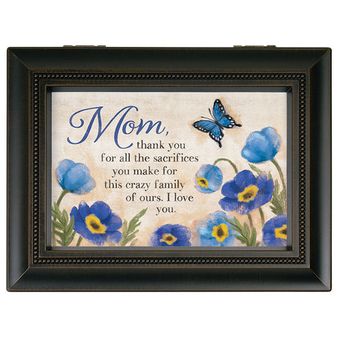 "Carson Music Box ""Mom/Family"""