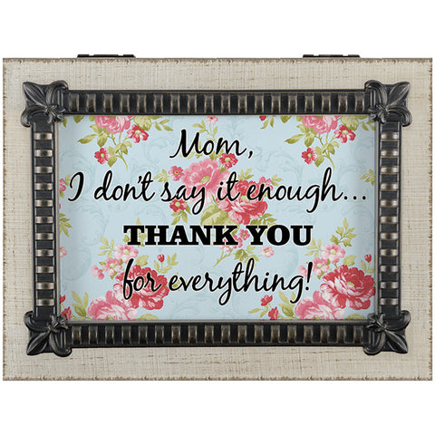 "Carson Music Box ""Mom, Thank You"""