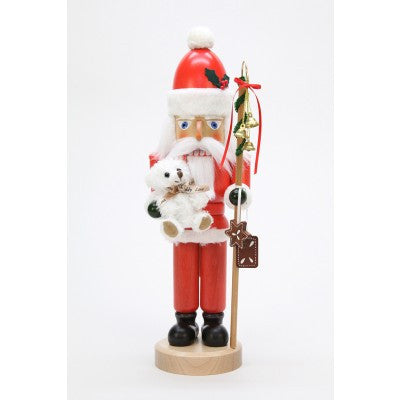 Nutcracker - Santa Claus with Teddy Glazed