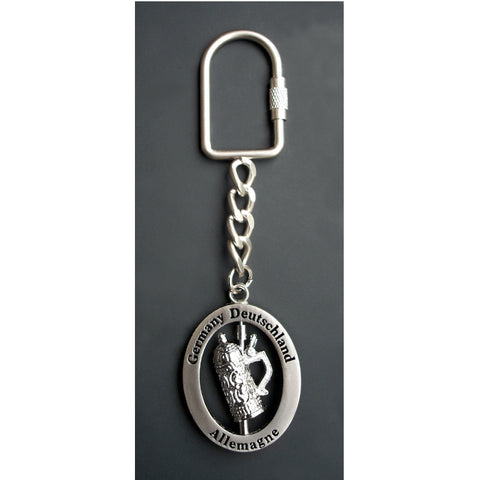 Beer Stein Key Chain