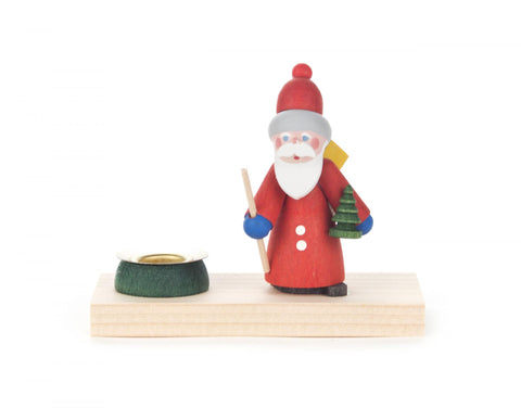 200/042 - Candle Holder with Santa (14mm)