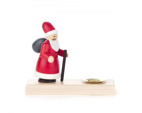 200/104B - Candle Holder with Santa Claus