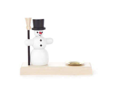 200/105B - Snowman Candle Holder (14mm)